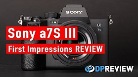 Sony a7S III First Impressions Review (4K/120p video, 16-bit Raw video)