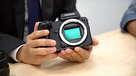 Fujifilm GFX Medium Format Interview, Photokina 2016, by DPReview.com