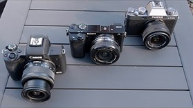 DPReview TV: Entry-Level APS-C Mirrorless Cameras (Canon EOS M50, Sony a6000, Fujifilm X-T100)