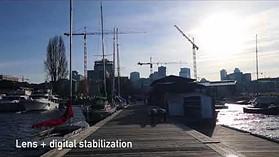 PowerShot G1 X III Video Stabilization - Walking